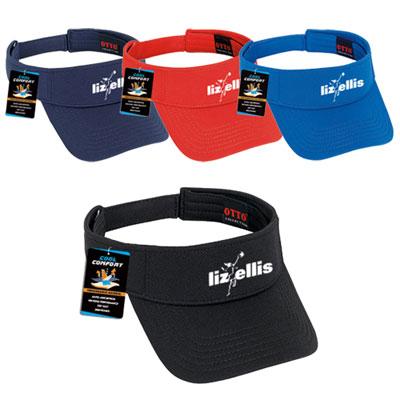 polyester cool mesh visor