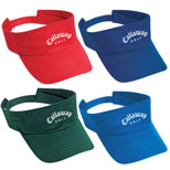 Imprinted Washed Cotton Twill Visor