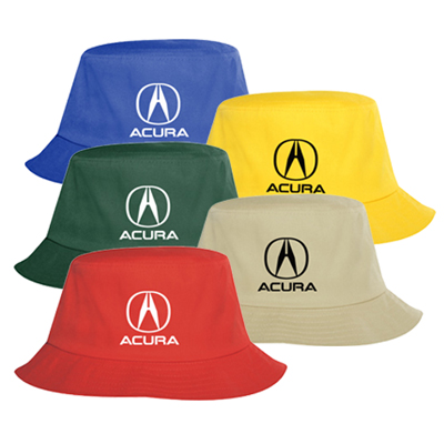 Personalized Promo Cotton Twill Bucket Hat