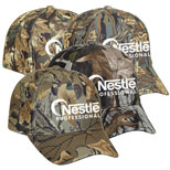 Promotional Camouflage Polyester Caps
