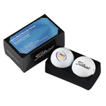 Customized Titleist Velocity Business Card Box - Titleist Velocity Business Card Box - Factory Direct
