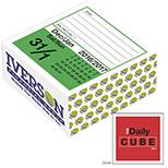 Custom Daily Cube Calendar