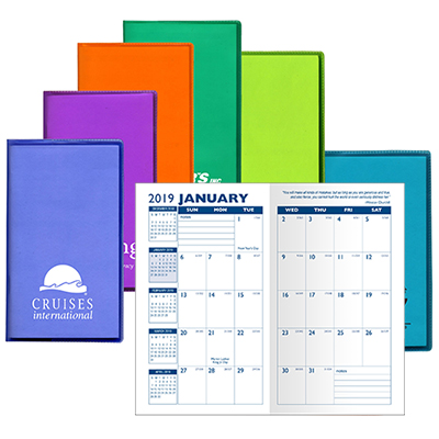 Translucent Monthly Pocket Planner