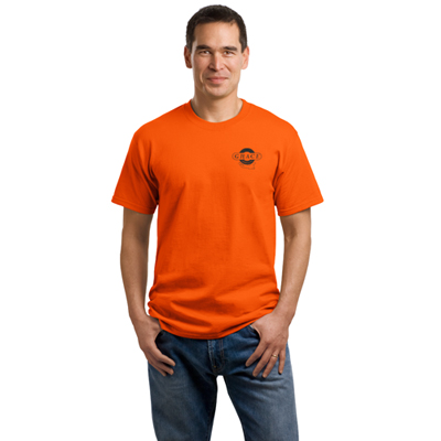 port & company® - core cotton tee (color)
