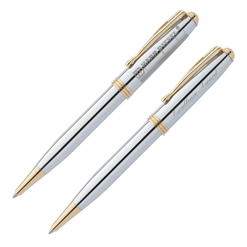 bic worthington chrome ballpoint