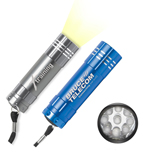 20046 - 9 LED Rocket Aluminum Flashlight