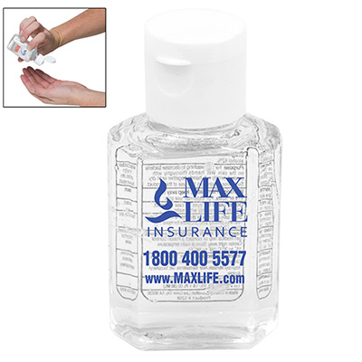 1 oz. Compact Hand Sanitizer Bottle
