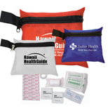 Custom Traveler's First Aid Kit  - Promotional Traveler's First Aid Kit
