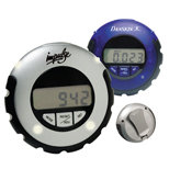 Promotional Jogger LED Pedometer - Custom Jogger LED Pedometer