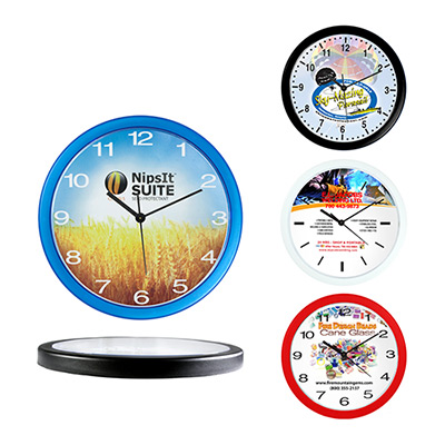 10 economy wall clock