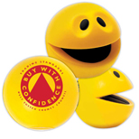 Promotional Smiley Squeeze Ball  - Custom Smiley Squeeze Ball