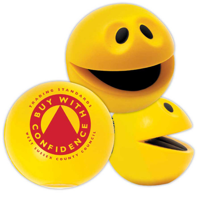 Mr. Smiley Squeeze Ball