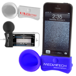 20136 - iPhone Megaphone Speaker and Stand