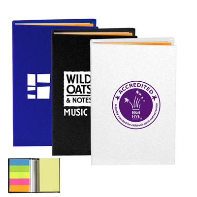 Compact Sticky Note and Flag Book
