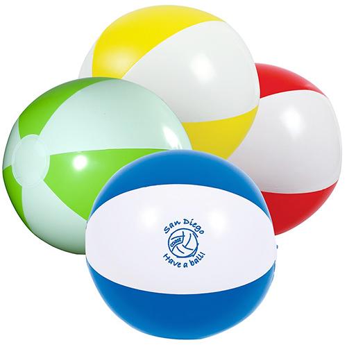 16 2-tone beach ball