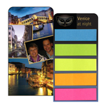 20157 - Compact 5 Color Sticky Note Flag Card