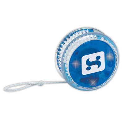 Blue Light-Up Yo-Yo
