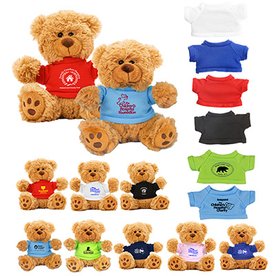 6 plush teddy bear