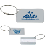 Promotional Compact Luggage Tag - Custom Compact Luggage Tag
