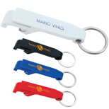 Promotional Plastic Bottle Opener Keychain