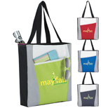 Promotional Atchison Accent Tote - Custom Atchison Accent Tote