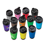 20280 - 17 oz Përka® Mug  w/ Flip-Up Lid