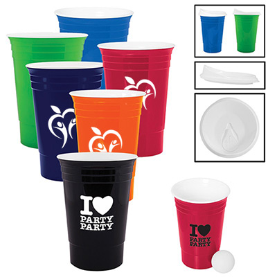 16 oz Tailgate Party Cup