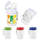 Promotional Sanitizer Wipes Canister