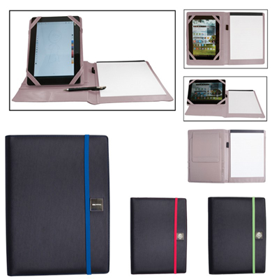 padfolio with tablet stand