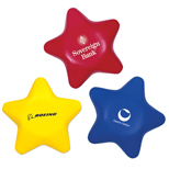 Custom Star Stress Reliever  - Promotional Star Stress Reliever