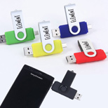 20398 - Dual Port USB Drive 4GB