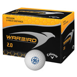 Custom Callaway Warbird 2.0 Golf Balls - Logo Printed Callaway Golf Balls