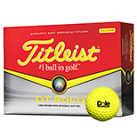 20435 - Titleist® DT SoLo Yellow Golf Ball