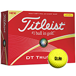 Promo Titleist DT Solo Yellow Golf Ball