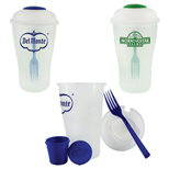 Promotional Salad Shaker Set, Custom Shake it Up Salad Set