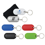 Logo Tidy Up Key Chain, Customized Plastic Keychains