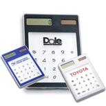 Customized Clear Value Calculator, Custom Imprinted Solar Calculator