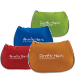 Personalized Deluxe Cosmetic Bags, Custom Cosmetic Bag w/ Zipper