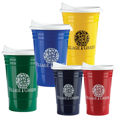 16 Oz The Ultimate Party Cup With Lid