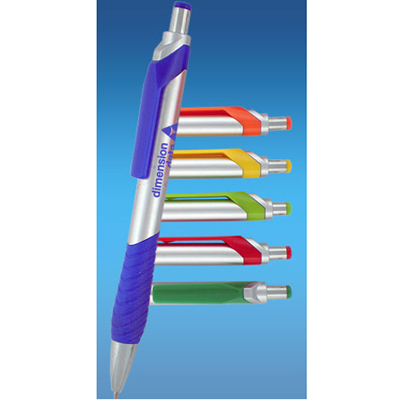 Imprinted Click Action Pens
