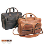 Promotional Leather Briefcase, Personalized Computer Briefcase