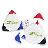 Promotional Triple Golf Ball Markers, Logo Printed Golf Ball Marker