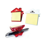 20604 - House Shaped Sticky Note Clip