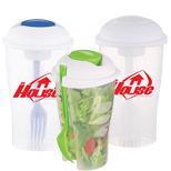 Personalized Salad Shaker Set, Logo Imprinted Salad Shaker Set