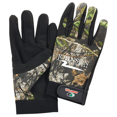multi-purpose camo gloves
