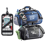 Customizable 24'' Zippered Duffel Bag, Logo Imprinted Duffel Bags
