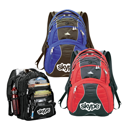 high sierra® swerve compu-backpack