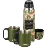 Promotional Insulated Bottle Set, Personalized 18oz Camouflage Bottle Set