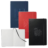 Customized Ambassador Bound Journalbook, Laser Engraved Journal Book