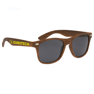 malibu sunglasses - woodtone
